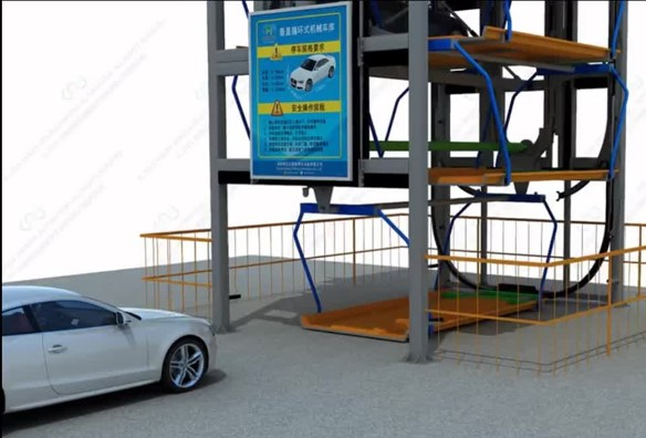 Automated Rotary & Vertical Parking Systems