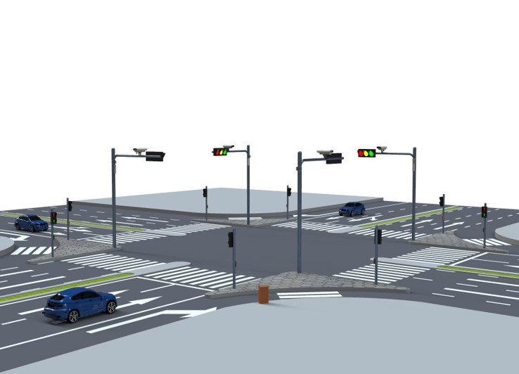 Video Based Actuated Traffic System